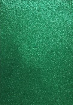 Glitter EVA Foam - Sheets Package - Green - 22 x 30cm x 2mm