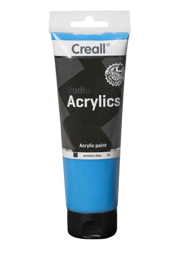 Acrylic paint -  Primary Blue - 250ml