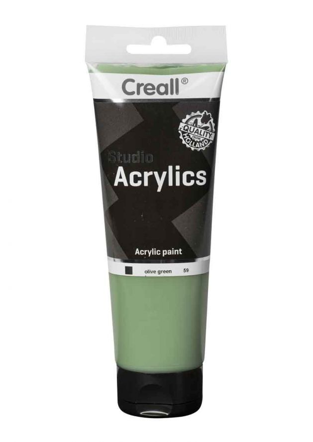 Acrylic paint - Olive Green - 250ml