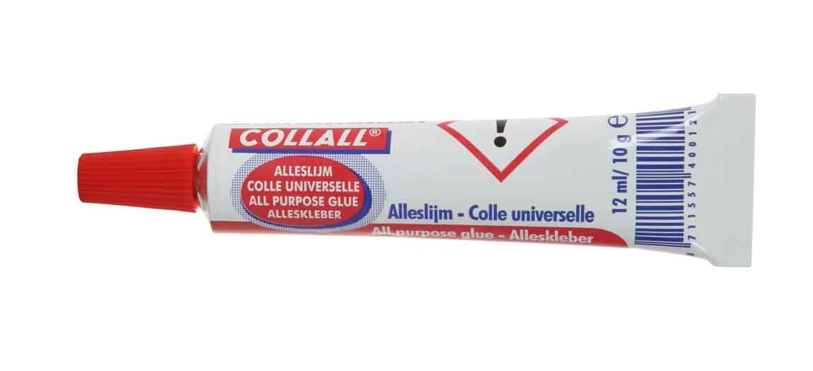 Alleslijm Collall - 12 ml. Tube - Transparant
