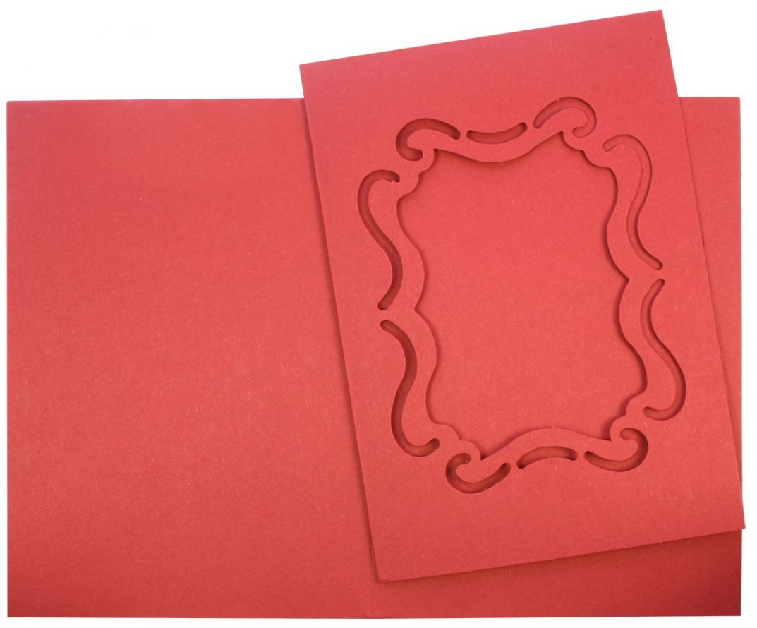 100 Victorian - Passe Partout Cards - Red