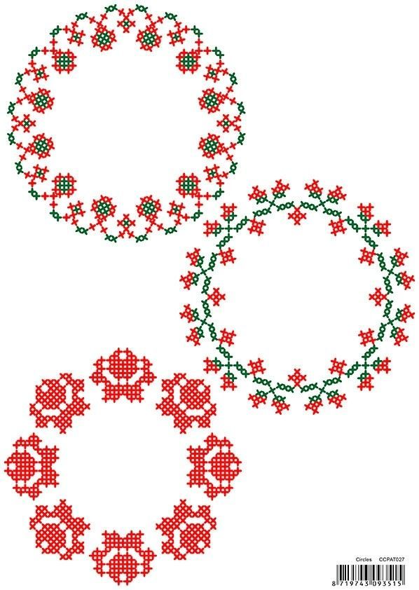 CrossCraft Patterns - 27 Circles