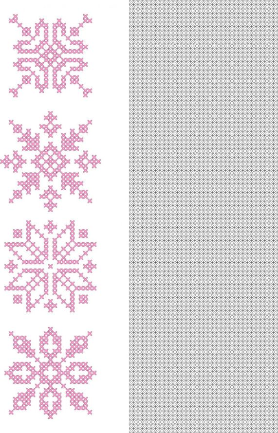CrossCraft Patterns-11 Snowflakes