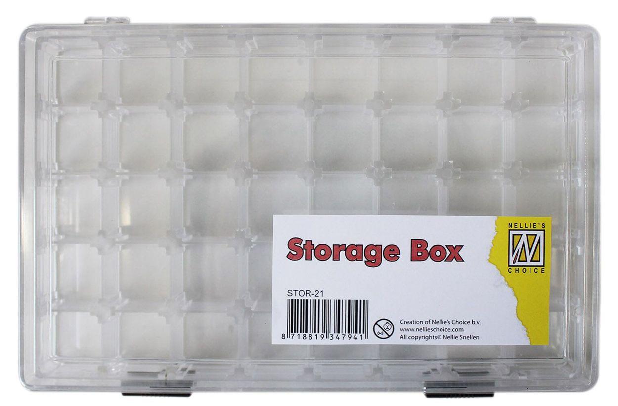 aufbewahrungsbox mit 40 f chern von 2 3 x 2 3cm. Black Bedroom Furniture Sets. Home Design Ideas