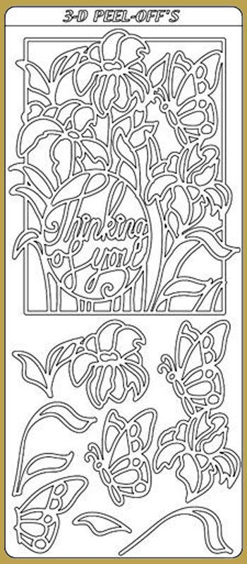 Butterfly Sticker Sheets X 10