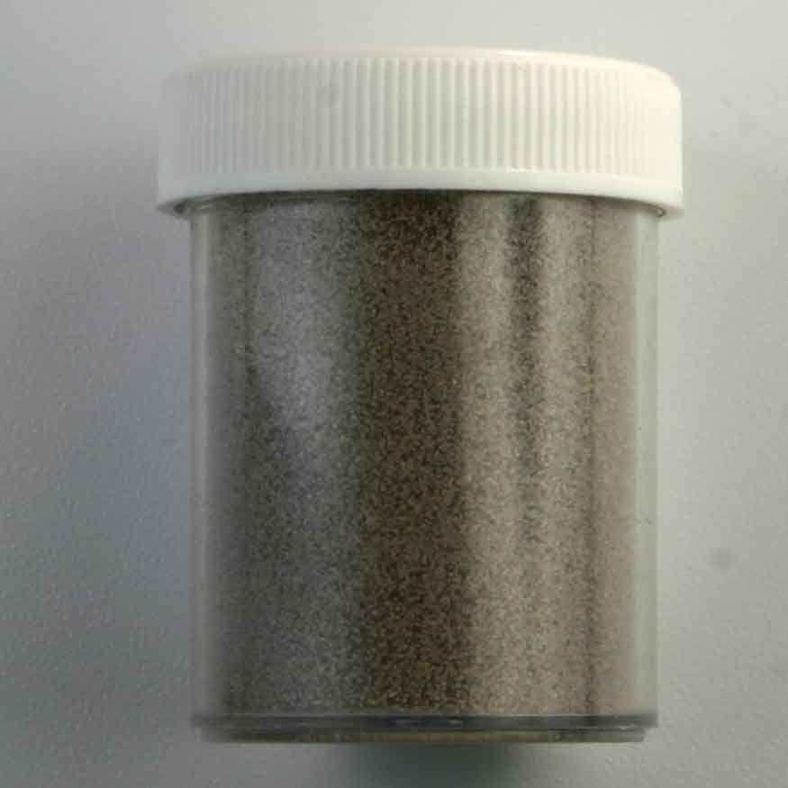 Gekleurd zand zilver grijs 30 gram - Grijs gekleurd ...