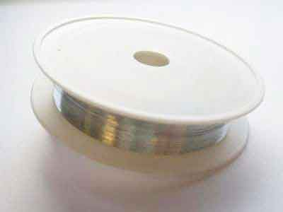 Metal Binding Wire - Platinum - 2mm x 30M