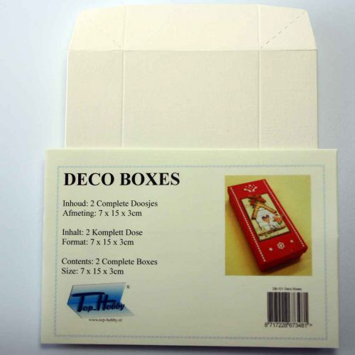 Deco Boxes Package - Recktangle - Ivory