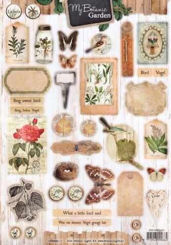 Delightful My Botanic Garden   3DA4 Step By Step Die Cut Sheet