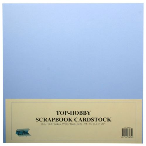 Scrapbook Cardboard Package - Lavender Blue - 240g